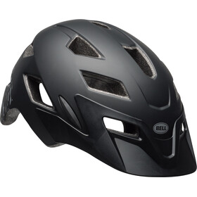 Bell Sidetrack Casque Enfant, matte black/silver